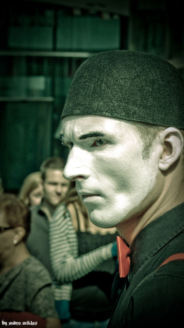 Mime in Vienna