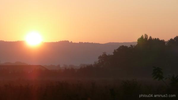 Rouge du matin...