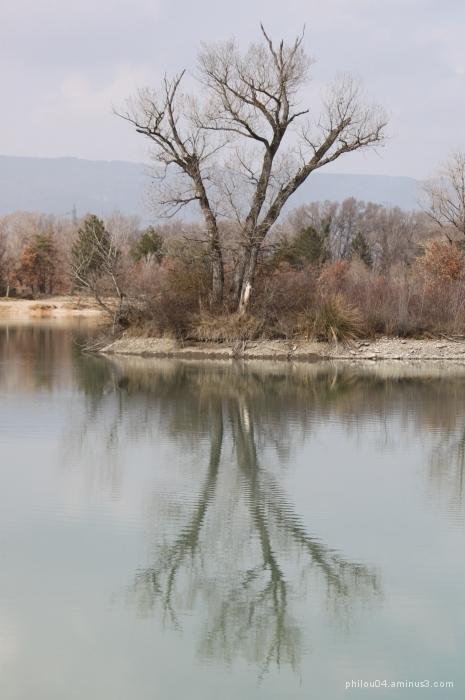 Au lac de pêche