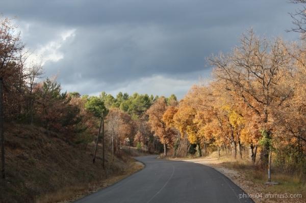 Couleurs d'automne - Orageux