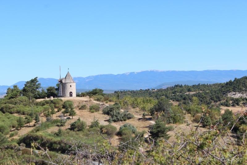 Montfuron (4) - Le moulin
