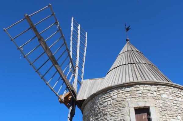 Montfuron (6) - Les ailes du moulin