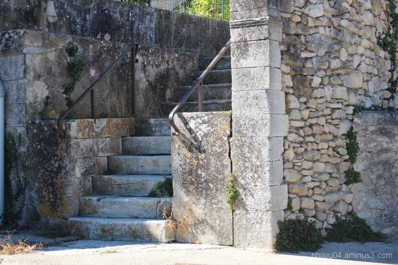 Céreste (3) - L'escalier