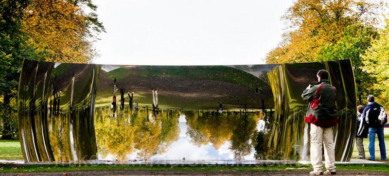 Anish Capoor Kensington Gardens