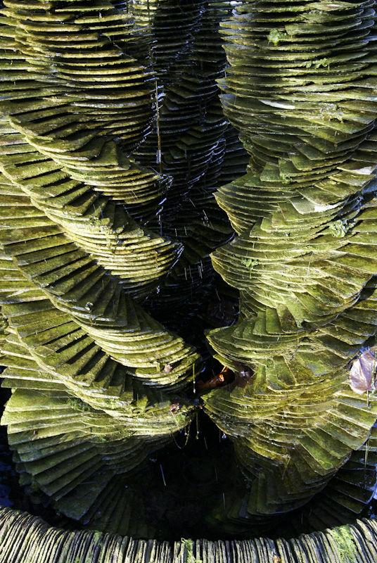 Water sculpture Kew gardens