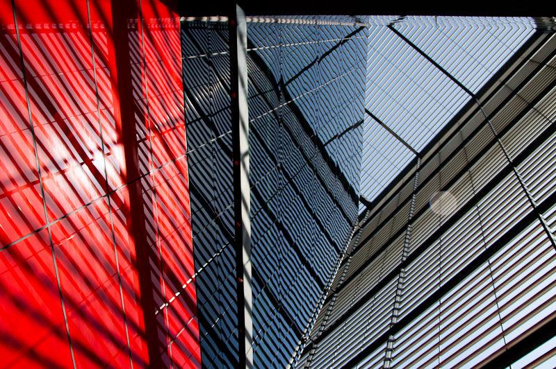 Solar shading reflected