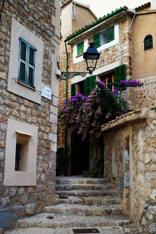 Biniaraix Mallorca Spain old stone village