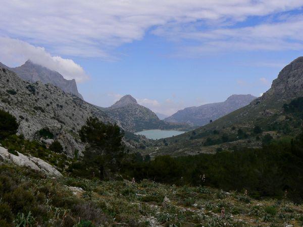 Cuber Tramuntana mountains Mallorca Spain