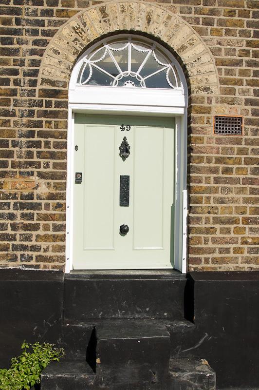 Small front door