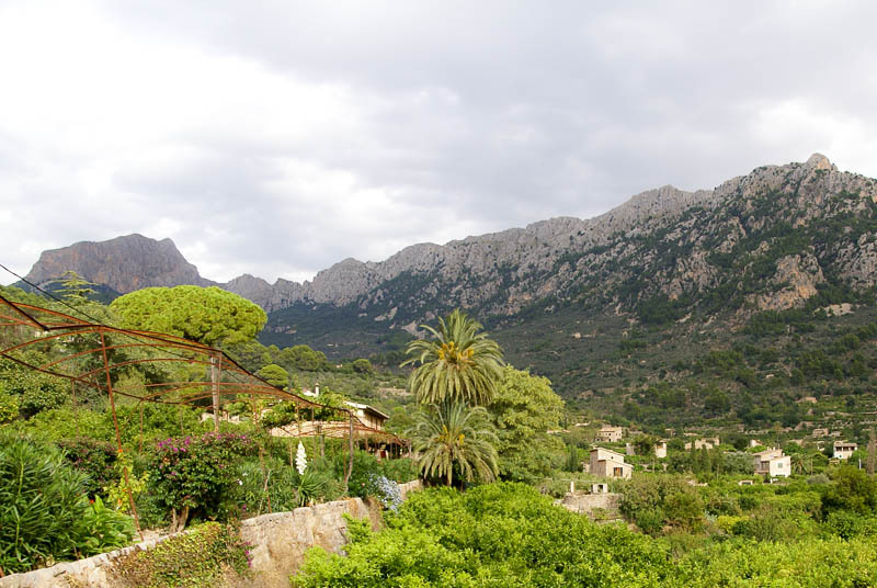 Soller's South Eastern mountain ridge