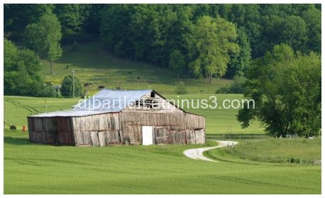 Old barn in Kentucky
