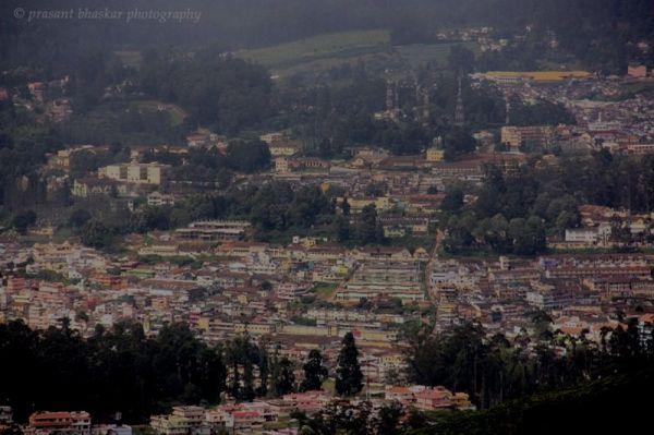 Nilgiris Hills, India, Valley View