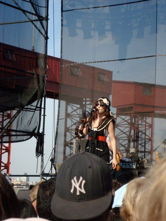 She and Him-Governors Island-July 4th,2010