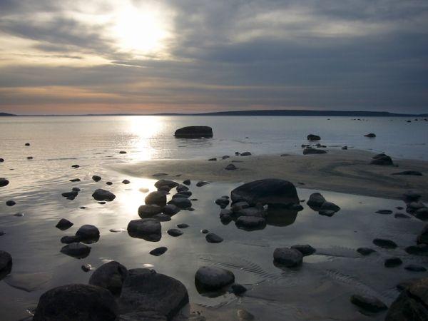Awenda Provincial Park, Ontario - sunset at Beach