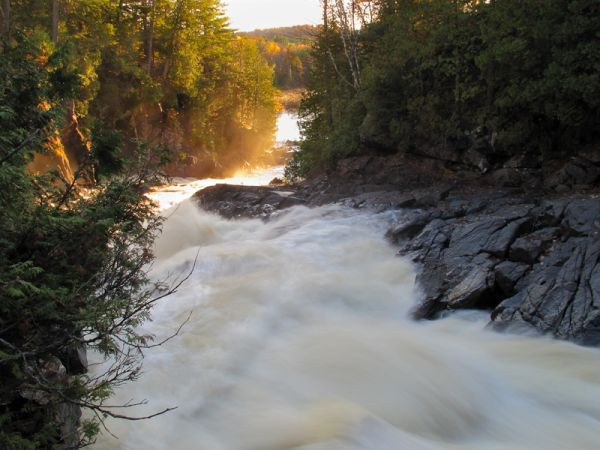 """Oxtongue River"", ""Ragged Falls"""