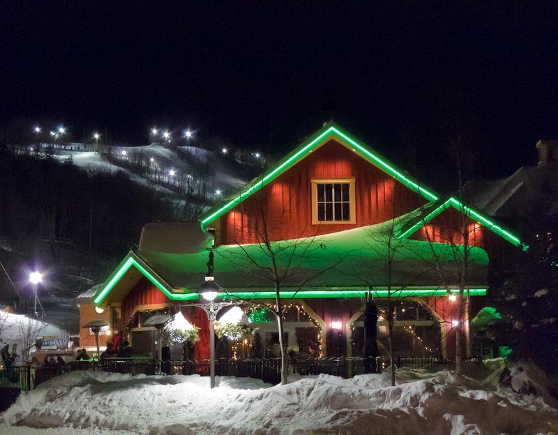 """""""Blue Mountain"""", Ontario snow ski night Rusty"""
