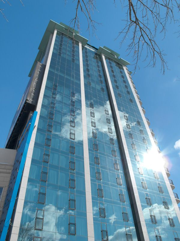 """Niagara Falls"" urban building sky"