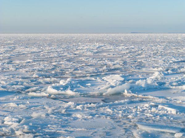 Ontario, Georgian Bay, Winter, lake, ice