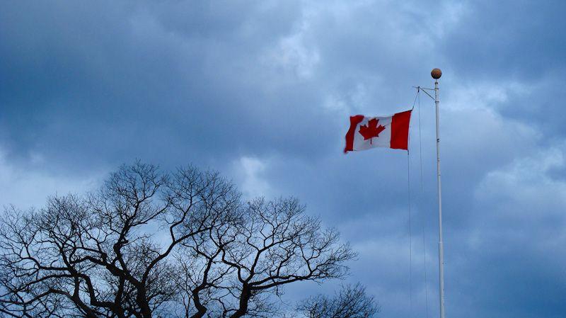 """High Park"" Toronto sky clouds tree"