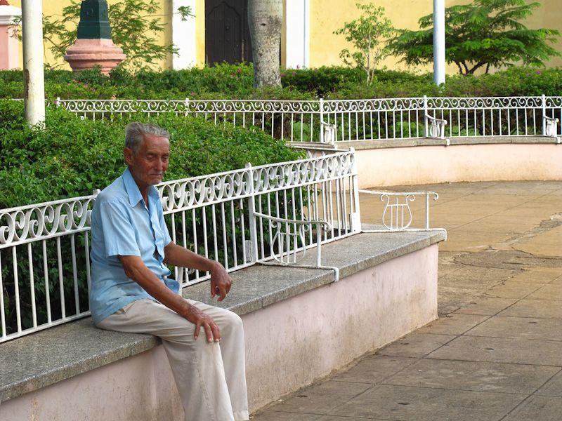 "Remedios Cuba ""Main Square"" people portrait"
