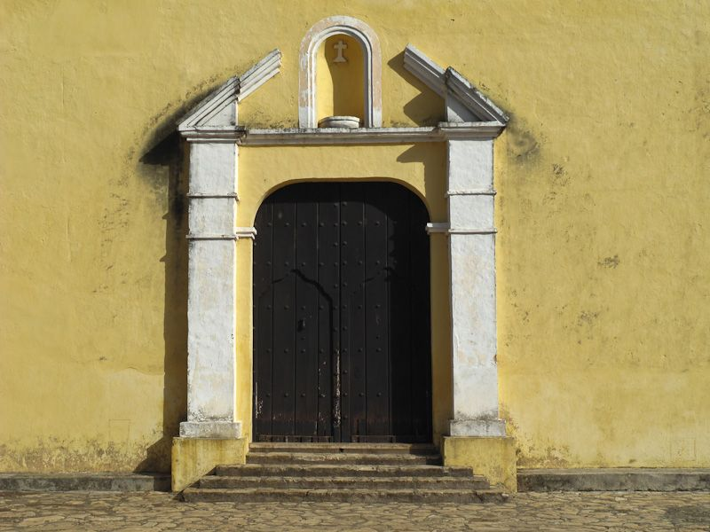 "Remedios Cuba church ""new church"" door"