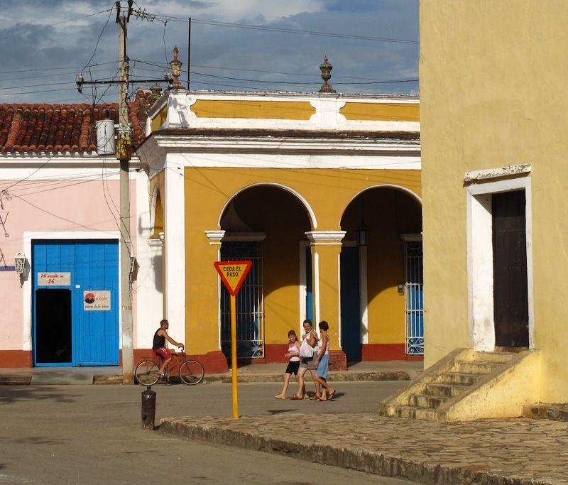 Remedios Cuba people street