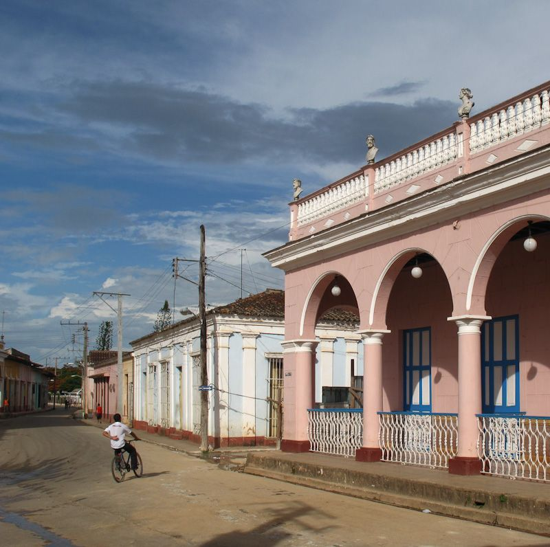 Remedios Cuba architecutre street