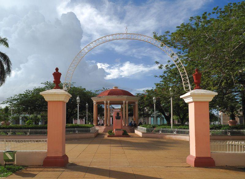 "Remedios Cuba ""Main Square"" park"