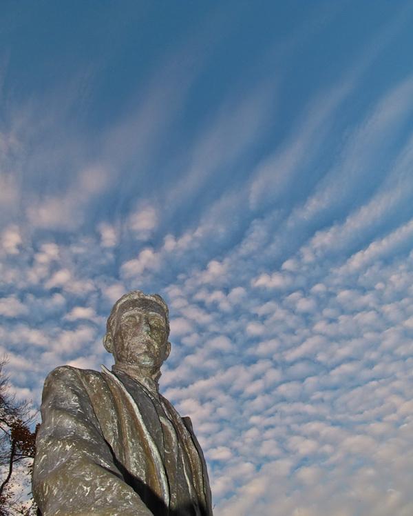 """""""Niagara Falls"""" """"Nikola Tesla"""" sky clouds monument"""
