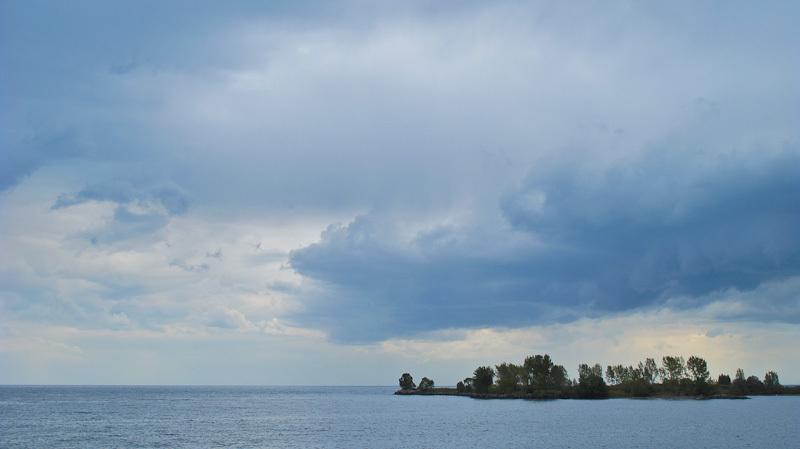 clouds, sky, lake, storm, Ontario, Toronto