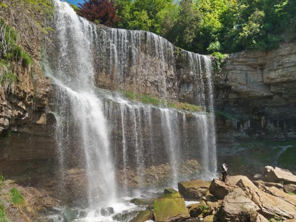 """Webster's Falls"" Dundas Ontario water falls"
