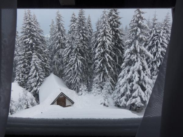 Winter Kopaonik Serbia mountain morning snow
