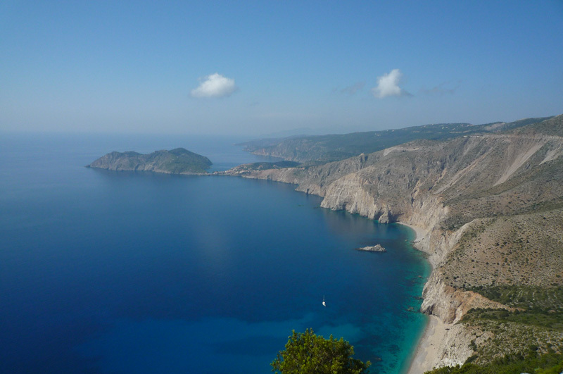 Assos, Kefalonia, Greece, ionian, blue, sea, sky