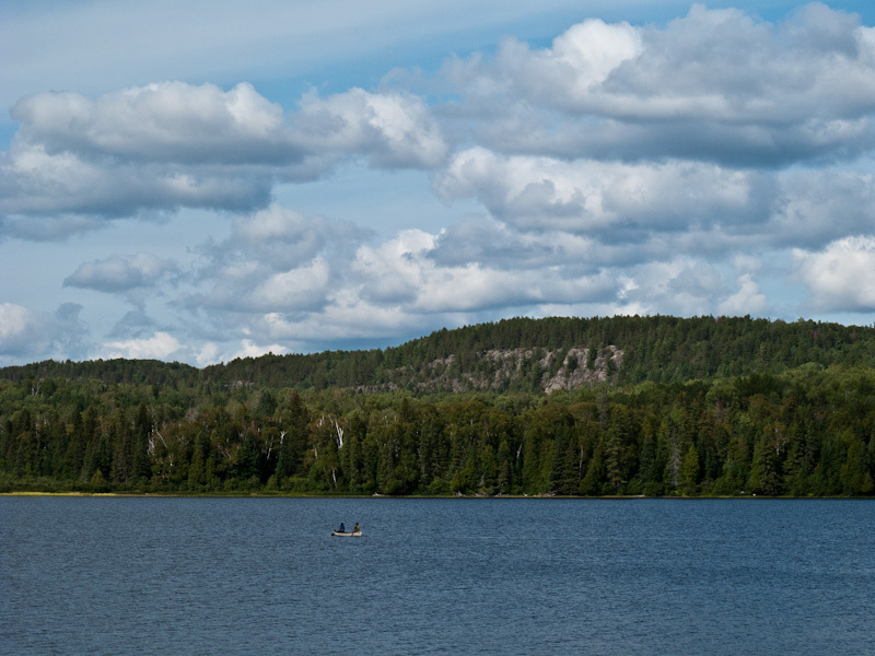 Algonquin Park Ontario Whitefish Lake Centennial