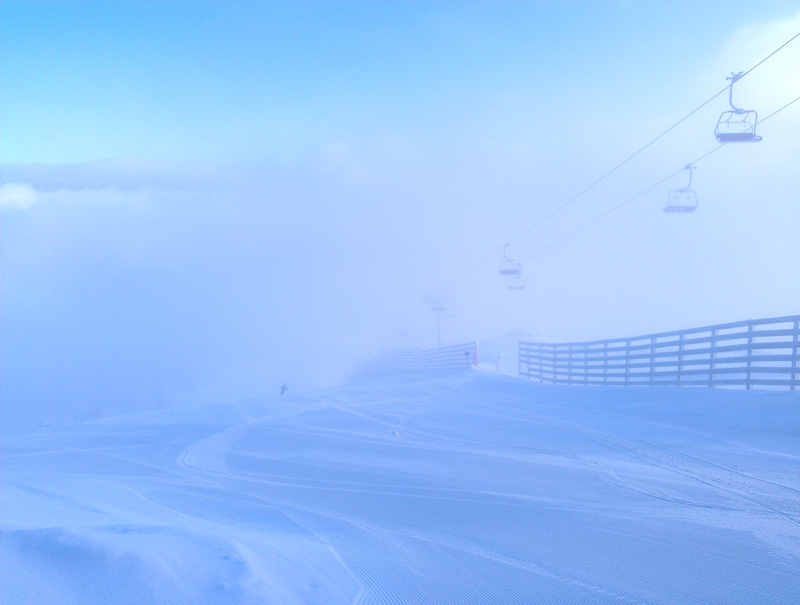 Kopaonik Serbia ski lift Winter snow mountain