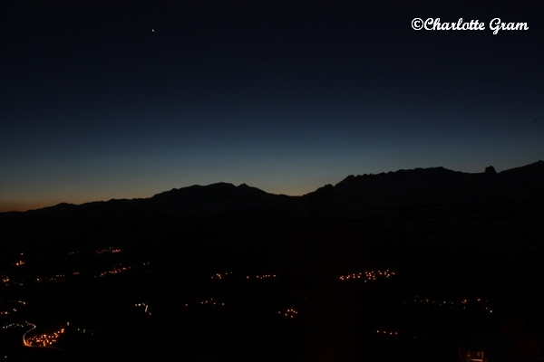 Les Arcs (France) @ night