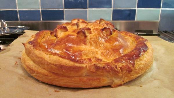 I made a pie.