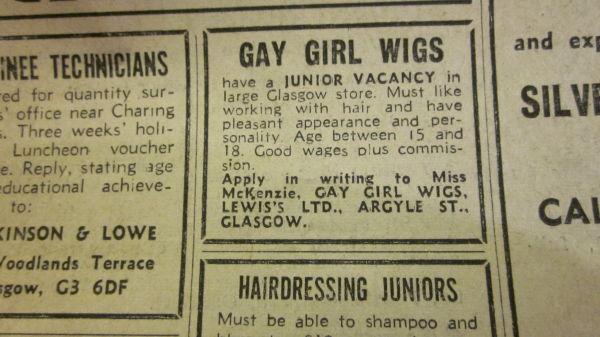 Gay Girl Wigs