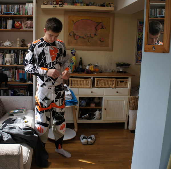 motorbike clothes & lots of stuff