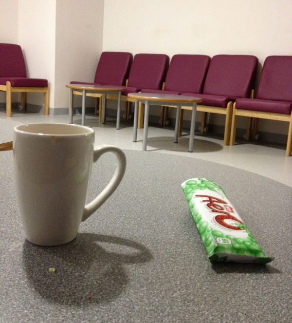 tea break,  4.03am