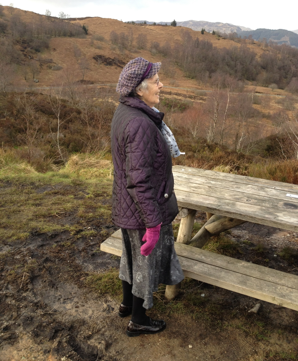 a day in the trossachs