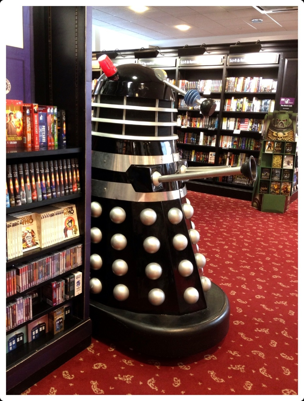 the dalek & me in waterstones