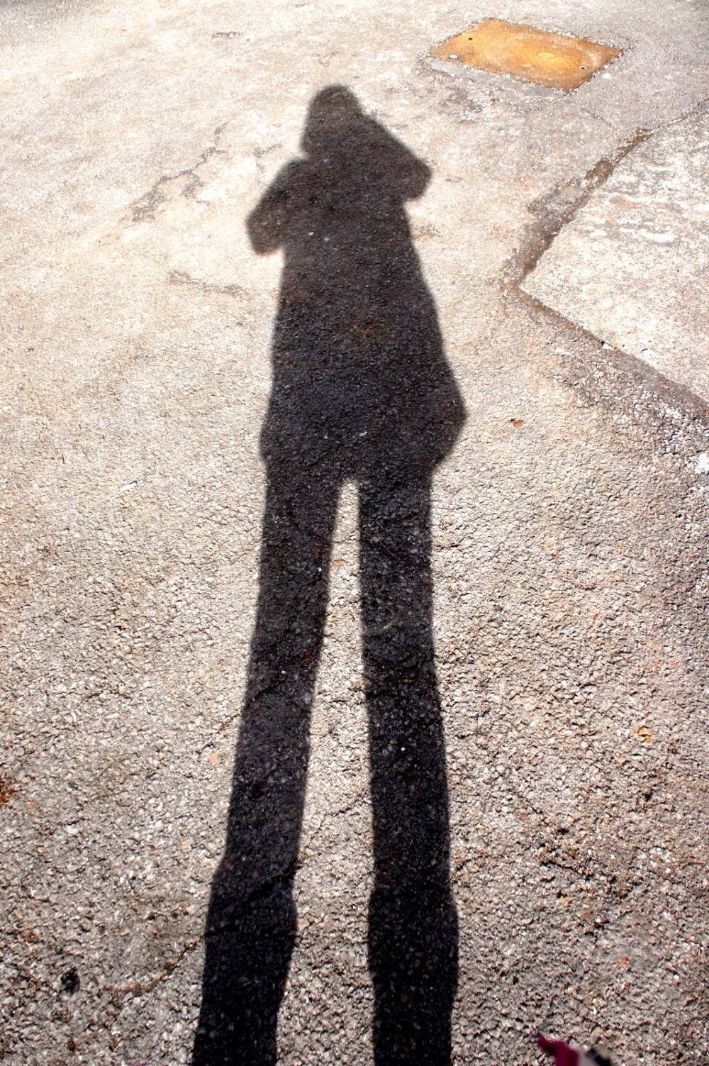 self-portrait in the sunshine