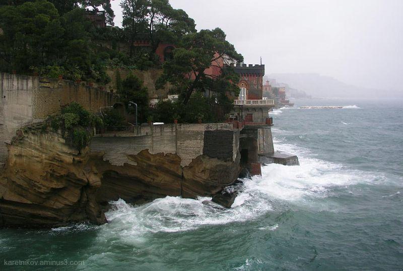 Storm on Posillipo, Napoli