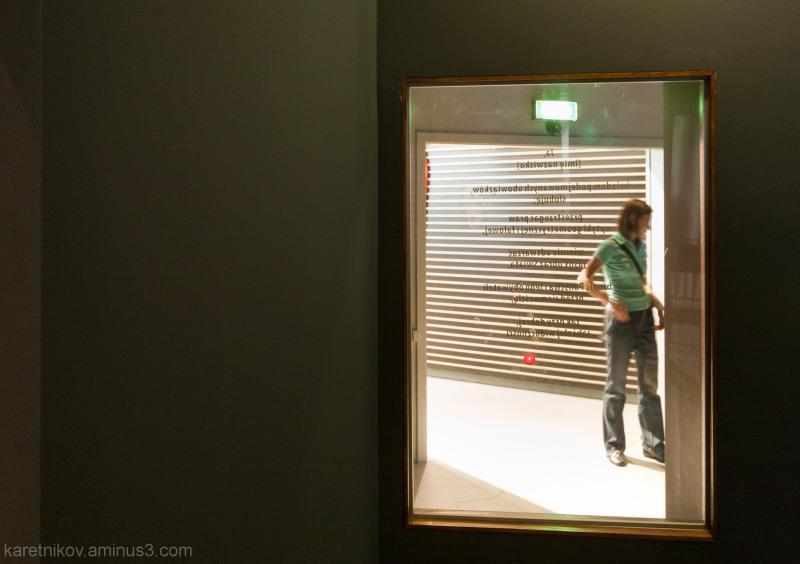 The see-through mirror