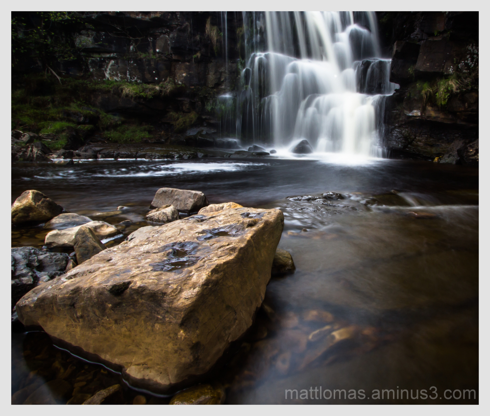 East Gill Waterfall in full flow
