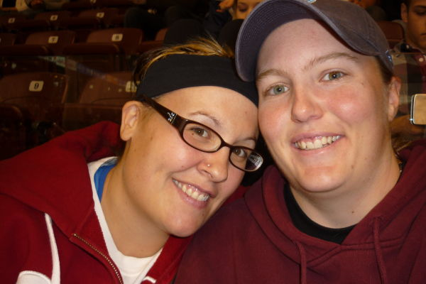 Me & Tammy @ The Gens Game