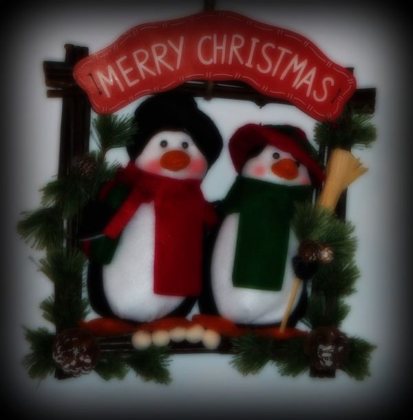 Bought this cute penguin xmas decoration for gf