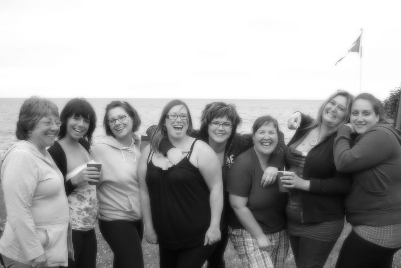 All Us Girls Partying And Having A Good Laugh