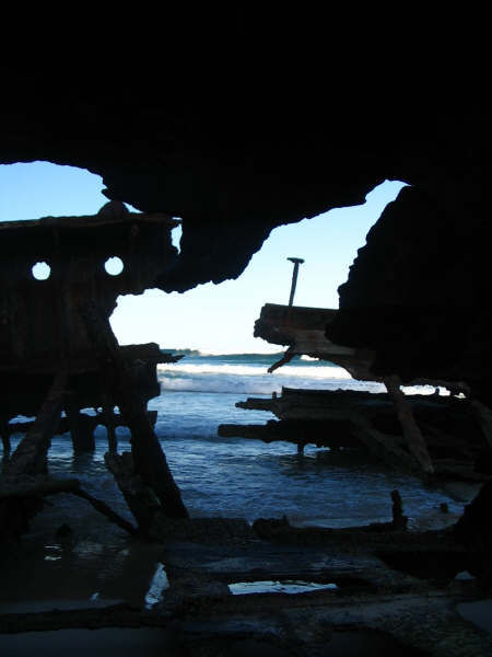 Fraser Island shipwreck
